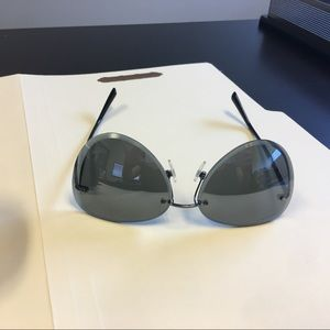 Chanel Mirrored Pilot Sunglasses
